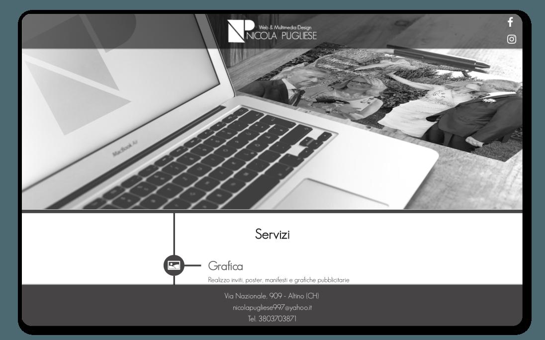 Siti Web Altino - Web Designer Altino- Loghi Altino - Nicola Pugliese - Sito Web